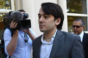 Martin Shkreli had offered a US$5,000 reward for a strand of Hillary Clinton's hair.