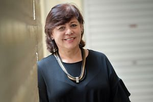 MS BARBARA D' COTTA, vice-principal of the Singapore School for the Deaf.