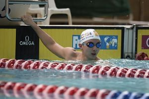 Para-swimmer Toh Wei Soong clocked 1min 7.53sec to win the 100m S7 freestyle race.