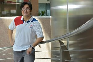 Samwoh Corporation project coordinator Justin Kang has enrolled in SIT as a civil engineering student under the SkillsFuture Work-Study Degree Programmes. The electrical engineering diploma holder gets time off from work to attend classes in the four