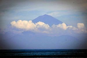 The alert level for Mount Agung volcano has been raised for the second time in less than a week.