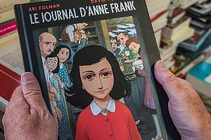 The 160-page graphic-novel version of The Diary Of Anne Frank is an abridged version of the original.