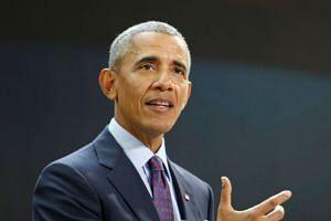 Barack Obama speaks at the Bill & Melinda Gates Foundation.