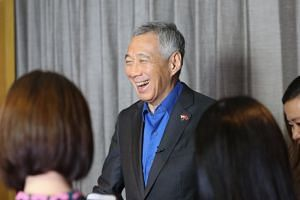 Prime Minister Lee Hsien Loong said Chinese leaders gave positive assessments of ties and were keen on improving them.