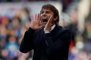 Chelsea manager Antonio Conte during the match.