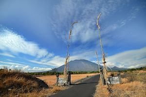 The alert status for Mount Agung has been raised to its highest level.