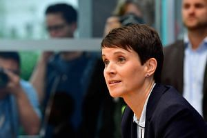 AfD co-leader Frauke Petry said that she will not sit with the AfD parliamentary group.
