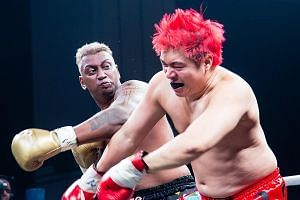 """Pradip Subramanian, 32, died of cardiac arrest respiratory failure after his """"celebrity fight"""" with YouTube personality Steven Lim at the Asia Fighting Championship on Saturday night."""