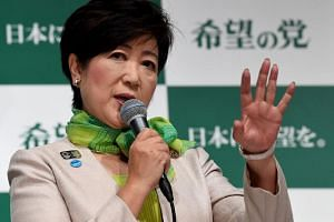 """Yuriko Koike announced that she would form her own party, named """"Party of Hope"""", to contest the Liberal Democratic party in the upcoming snap elections."""