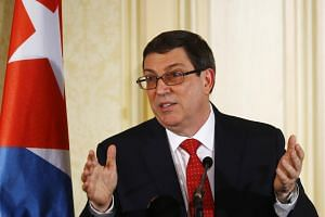 Cuban Foreign Minister Bruno Rodriguez (pictured) had called for Tuesday's meeting with US Secretary of State Rex Tillerson in Washington to discuss the case.