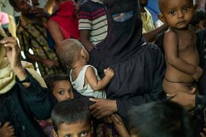 Some 480,000 Rohingya Muslims have fled Rakhine to Bangladesh since Aug 25.