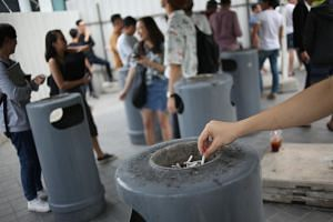 Health experts told The Straits Times that the ban will be helpful in getting people to think twice before lighting up.