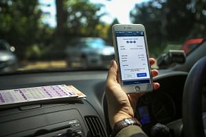 Through the Parking.sg app, motorists can use their credit or debit cards to pay parking charges.