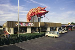 "The Big Prawn (above) in Ballina, on the north coast of New South Wales, and the Big Trout at Adaminaby in south-west New South Wales. First installed to attract visitors in the 1960s, there are now 200 or more ""big things"" around Australia."