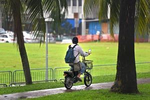 The Land Transport Authority (LTA) is stepping up enforcement, and its officers have issued over 1,400 advisories for unsafe riding.