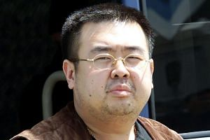 Kim Jong Nam in a file photo taken on May 4, 2001.