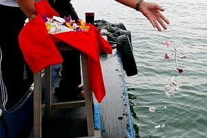 Scattering cremated remains at sea is an option but some may not like it. Inland ash scattering, such as in a garden, is practised in societies such as South Korea, Taiwan, China, the United States and Australia. Members of the public in Singapore ha