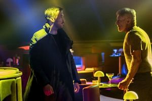 Ryan Gosling (left) and Harrison Ford star in Blade Runner 2049. PHOTO: SONY PICTURES