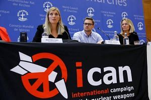 ICAN, the International Coalition to Abolish Nuclear Weapons, won the Nobel Peace Prize on Friday for its decade-long campaign to ban atomic weapons around the world.