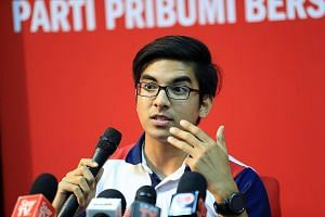 Parti Pribumi Bersatu Malaysia youth wing chief Syed Saddiq Syed Abdul Rahman said the alleged bribe was offered to him in return for quitting politics.