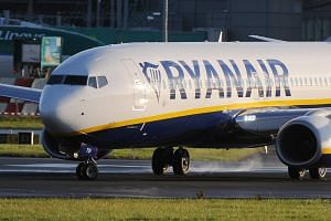 Irish airline Ryanair is the largest in Europe by passenger numbers.