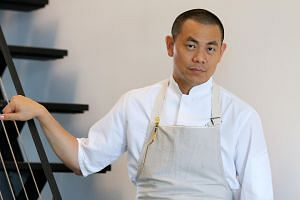 Award-winning chef Andre Chiang of two-Michelin-starred at Restaurant Andre.