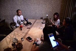Chef Andre Chiang said one of his priorities now is researching the produce from the place of his birth and showcasing them at his restaurant Raw in Taipei.