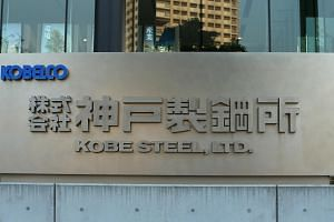 The Kobe Steel headquarters in Kobe, Japan.