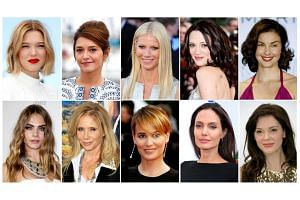(From top left) Lea Seydoux, Emma de Caunes, Gwyneth Paltrow, Asia Argento, Ashley Judd, Cara Delevingne, Rosanna Arquette, Judith Godreche, Angelina Jolie and Rose McGowan have made accusations in media against US film producer Harvey Weinstein of s