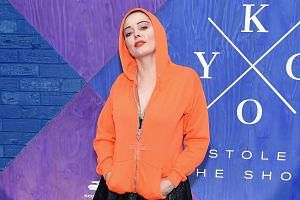 Rose McGowan attends the KYGO Stole The Show Documentary Film Premiere in New York City.