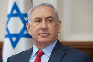 Israeli Prime Minister Benjamin Netanyahu (above) welcomed the US' decision to withdraw from Unesco.