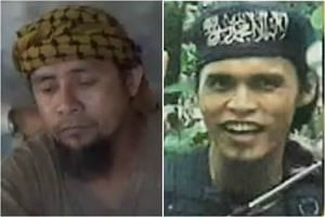 Isnilon Hapilon (left) was designated by ISIS as its top man in South-east Asia. Omar Maute (right) and his brother Abdullah formed a group that supplied the bulk of fighters that overran Marawi.
