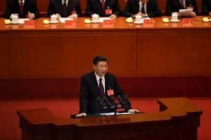 China's President Xi Jinping vowed to strengthen party ideology, and said cadres need to eliminate incorrect thought.