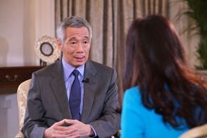 The country's next generation of leaders will, in time, have to reach a consensus on who should lead the team, beyond him, PM Lee said in an interview with CNBC.