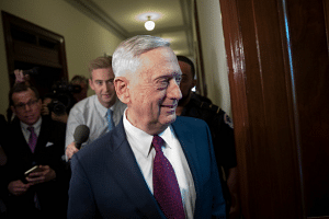 US Defence Secretary James Mattis will meet his counterparts from Japan and South Korea on Oct 23 to discuss North Korea. He is due to visit Thailand and South Korea as well on his eight-day tour.