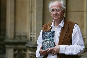 La Belle Sauvage is the first book of the trilogy, The Book Of Dust, by Philip Pullman (above).