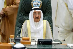 Emir Sheikh Sabah Al-Ahmed Al-Sabah said Kuwait's goal was to save the Gulf Cooperation Council union from