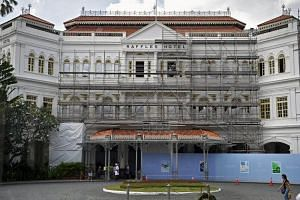 Raffles Hotel Singapore Revamp Will Retain Its Heritage And Colonial
