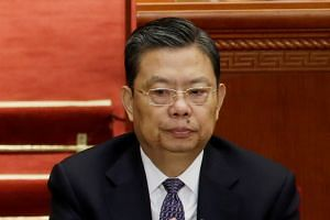 Mr Zhao Leji, a close ally of President Xi Jinping, heads his party's powerful Organisation Department.