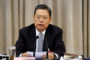 Zhao Leji was elected at a plenary session of the Central Committee for Discipline Inspection (CCDI).