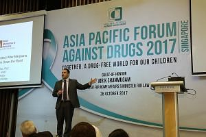 Mr Jon Sigfusson (above), director of the Icelandic Centre of Social Research and Analysis, said Iceland has seen some success in reducing drug use among its young people by strengthening preventive factors such as increasing the time teens spend wit