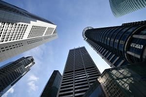 Prices of office space edged up 0.4 per cent in the third quarter after falling 1.4 per cent in the previous quarter.