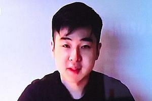 Mr Kim Han Sol was last seen in March in a video posted on the website of humanitarian group Cheollima Civil Defence.
