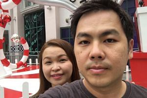 Mr Teh Tze Yong and his wife, Madam Janice Choo, were on a motorcycle on their way to work when a Mercedes-Benz driven by Lim Chai Heng, hurtled towards them on Dec 19, 2016.