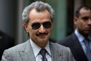 Prince Alwaleed bin Talal controls the investment firm Kingdom Holding and is one of the world's richest men.
