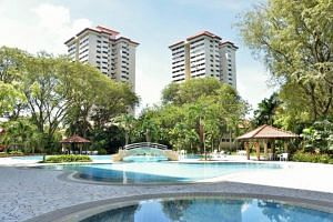 """Normanton Park was one of the properties that was sold en bloc this year. National Development Minister Lawrence Wong noted a """"healthy increase"""" in the sales of new units in the first three-quarters of the year, which in turn means """"unsold supply in"""