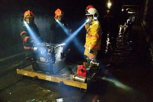 SMRT is cooperating with the Land Transport Authority's investigations into the flooding incident on Oct 7, which are ongoing.