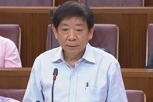 Transport Minister Khaw Boon Wan told Parliament Tuesday that the cause of the flooding incident was clear cut, and was attributable to nothing else but maintenance lapses. PHOTO: YOUTUBE/GOV.SG
