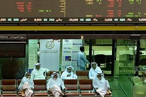 Traders at the Kuwait Stock Exchange. A sell-off across Gulf stock markets was prompted in part by the anti-corruption arrests in Saudi Arabia. Saudi Arabia's stock market continued to fall in early trade yesterday.