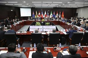 Trade ministers and delegates from the members of the Trans-Pacific Partnership meet in Danang, Vietnam.